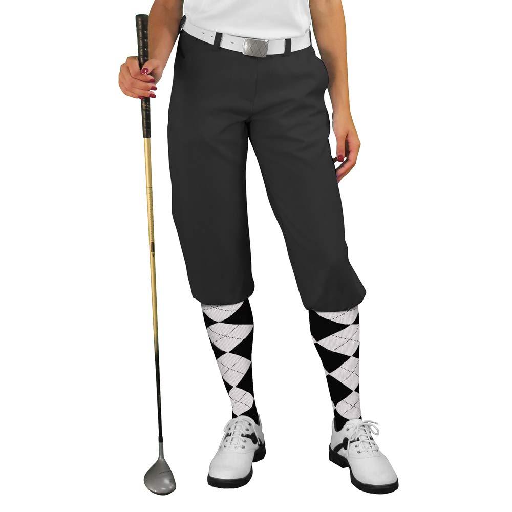 ブラックゴルフKnickers : Womens ' Par 3 ' – マイクロファイバー 16 ブラック B01F449MN2