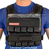 50 Lb. BOX Crossfit Weightvest (Uni Cam)