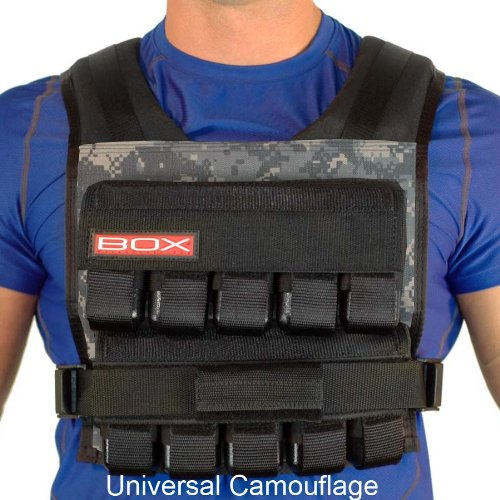 50 Lb. BOX Crossfit Weightvest (Uni Cam) by Weight Vest