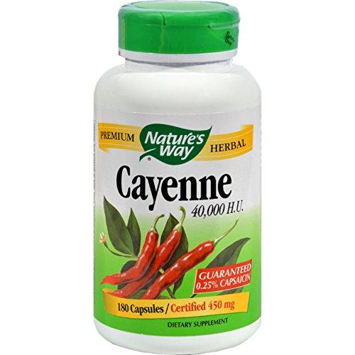 Cayenne 40,000HU 180 Capsules (Cayenne 180 Caps)