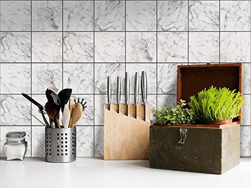 Piastrelle adesive cucina decorazione foglio adesivo per