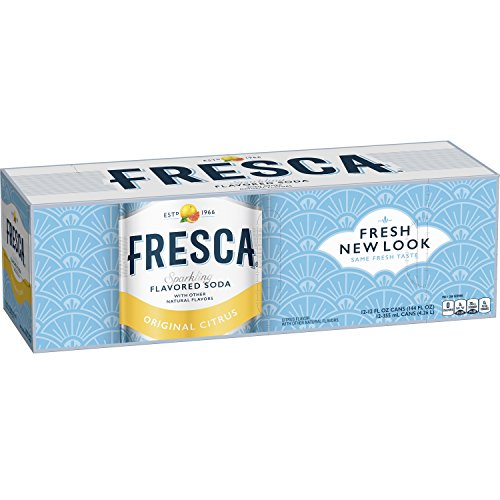 Fresca Citrus Soda, 12 Ounce,12 Count