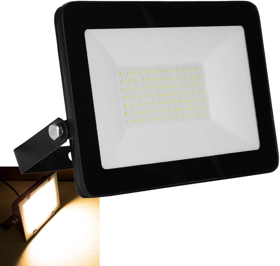 Foco LED de 100 W, 6500 lm, IP65, resistente al agua, para ...