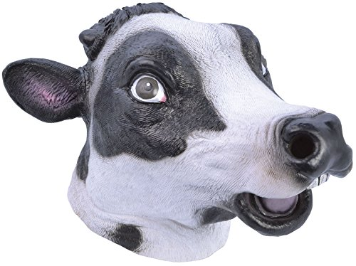 Cow Rubber Mask (Masks) - Unisex - One Size