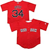 Majestic David Ortiz Boston Red Sox Cool Base Red Alternate Toddler Replica Jersey
