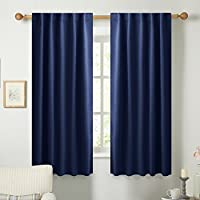 NICETOWN Blackout Draperies Curtains Window Drapes -...