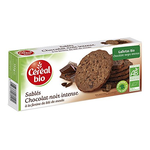 Galletas Bio Chocolate Negro Intenso Cereal Bio 132 G: Amazon.es: Alimentación y bebidas