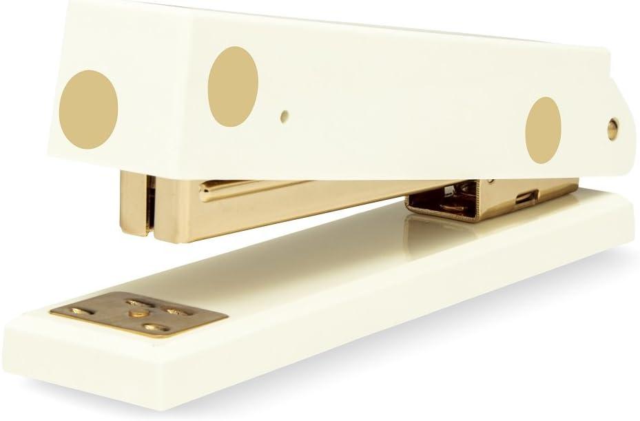 Kate Spade New York Acrylic Stapler, Gold Dot