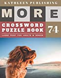 Large Print Crossword Puzzle Books for