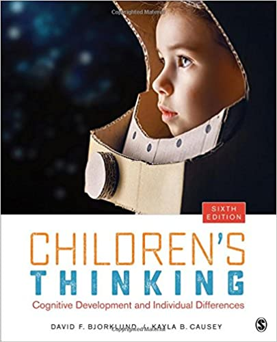 childrens thinking cognitive development and individual differences with infotrac