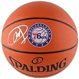 JOEL EMBIID Philadelphia 76ers Autographed Logo Spalding Basketball FANATICS