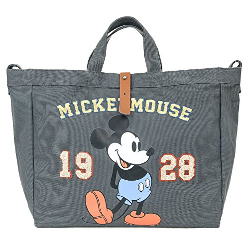Vintage Tote Bag Body Mouse Disney Dark Multi Mickey purpose Shoulder Cross ililily Grey q5zHgWvg