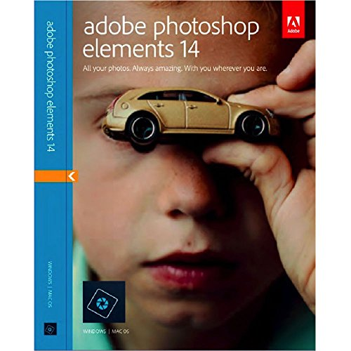 Adobe Photoshop Elements 14 New / Sealed For Mac & Windows, GENUINE RETAIL BOX ( Not 11, 12 or 13) (Photo Editing Software Reviews)