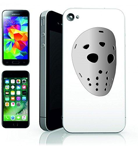 Smartphone Case hockey su ghiaccio della maschera di Sport del viso di attrezzature di Jason per Apple Iphone 4/4S, 5/5S, 5C, 6/6S, 7& Samsung Galaxy S4, S5, S6, S6Edge, S7, S7Edge Huawei HTC–
