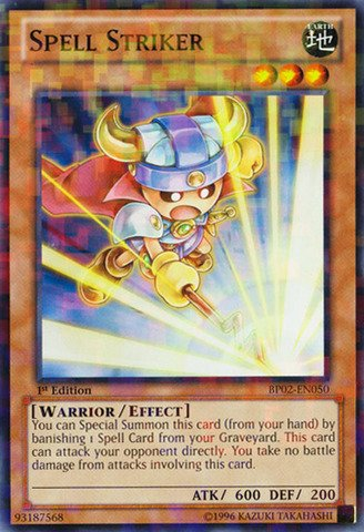 Spell Striker (Yu-Gi-Oh! - Spell Striker (BP02-EN050) - Battle Pack 2: War of the Giants - Unlimited Edition - Mosaic Rare)