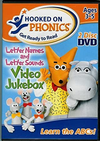 Amazon.com: Hooked On Phonics Letter Names and Letter Sounds DVD ...