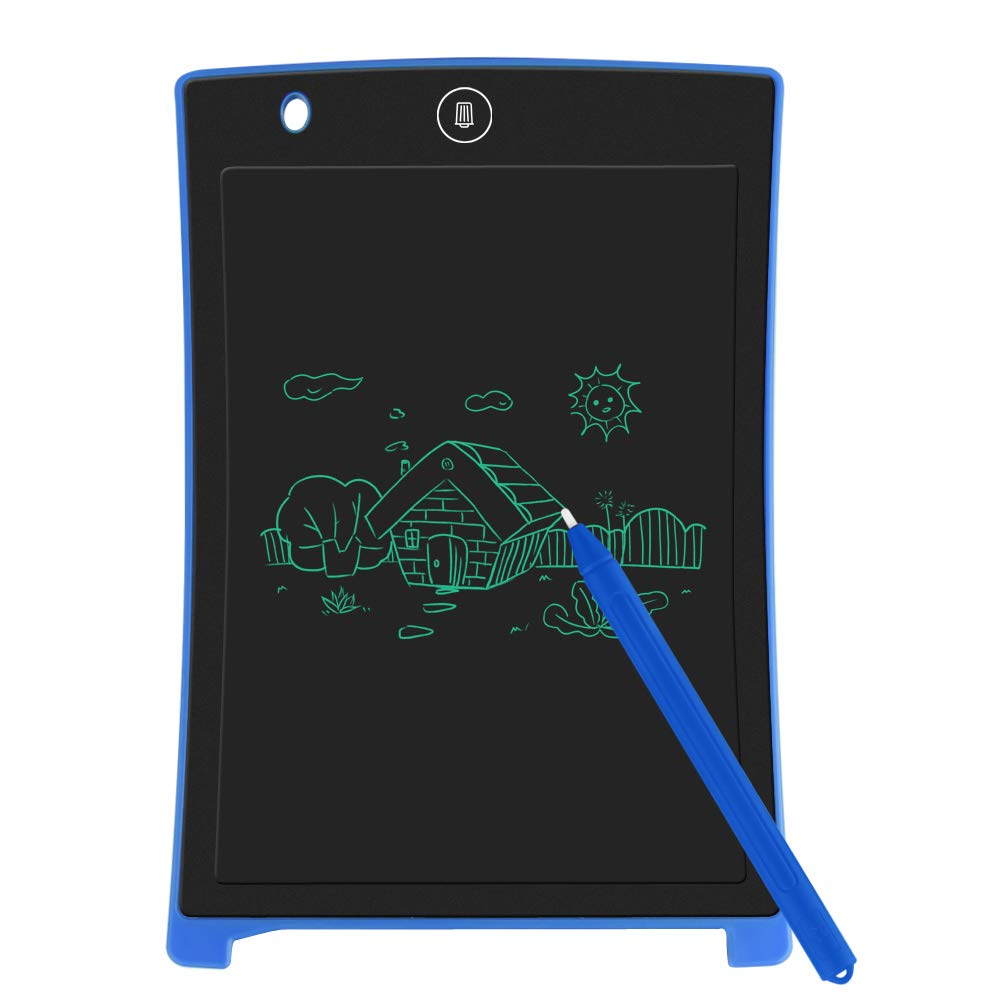 LCD Writing Tablet, Electronic Drawing Board and Doodle Board Gifts for Kids at Home and School (Blue) by Sunany