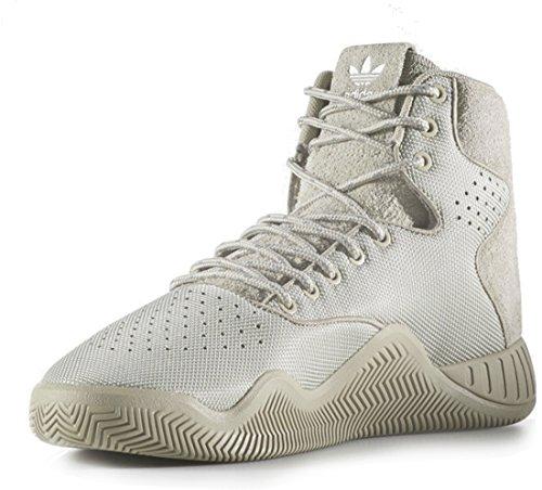 Adidas Originals Mens Tubular Instinct Mode Sneaker Tech Beige Tech Beige Tech Beige Stof