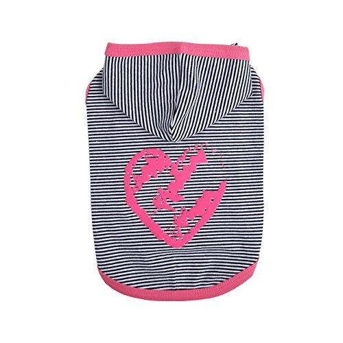 Pinkaholic New York Harper Sleeveless Hoodie, Medium, Pink by Pinkaholic New York