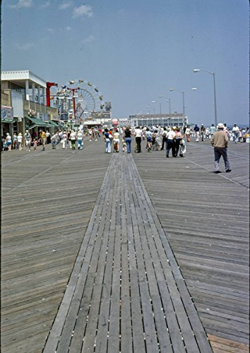 Roadside America Photo Collection | 1978 Boardwalk, Asbury Park, New Jersey 4 | Photographer: John Margolies | Historic Photographic Print -