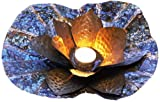 Shastra 12-Inch Floating Lotus Tealight Candle Holder