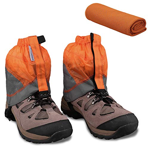 MAGARROW Gaiters for Hiking and Cooling Towel (11.8