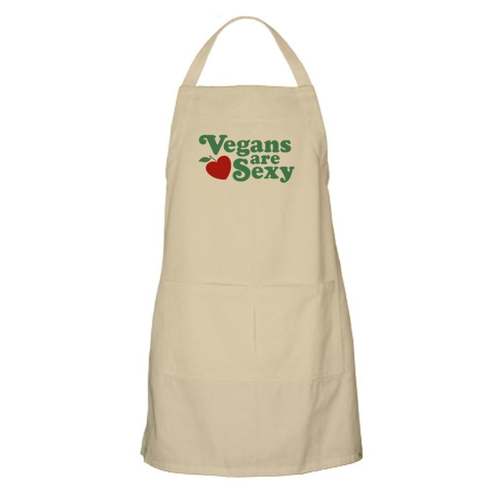 CafePress - Vegans Are Sexy BBQ - Kitchen Apron with Pockets