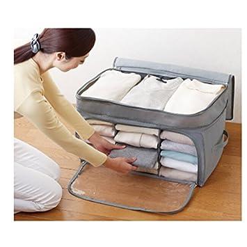 Image®Organiseur de vêtements ménages charbon de bambou Boîtes de ...