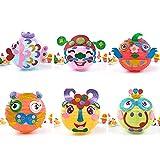 Children 3D DIY Cartoon Lantern Toy Nursery Handcrafted Paper Lantern Party Supplies