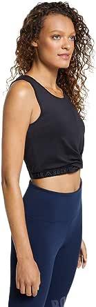 Rockwear Activewear Women's Velocity Elastic Hem Singlet from Size 4-18 for Singlets Tops