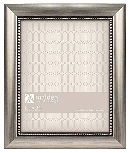 Designs Classic Mouldings Champagne Beaded Picture Frame, 8