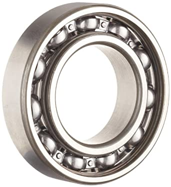 NSK 6002 Deep Groove Ball Bearing, Single Row, Open, Pressed Steel Cage, Normal Clearance, Metric, 15mm Bore, 32mm OD, 9mm Width, 24000rpm Maximum Rotational Speed, 2830N Static Load Capacity, 5600N Dynamic Load Capacity