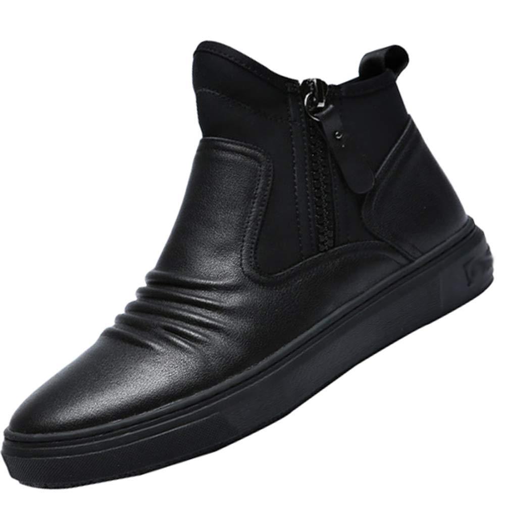 RSHENG Qualität Herrenmode Carrefour Wild Martin Stiefel Freizeitschuhe Carrefour Herrenmode Schuhe schwarz f6f2e2