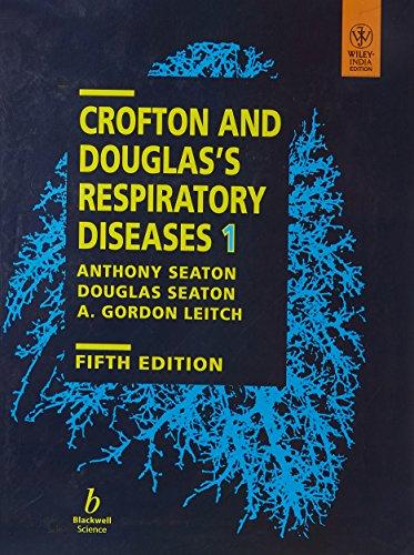 CROFTON & DOUGLOUS RESPIRATORY DISEASES 5/E 2 VOL SET