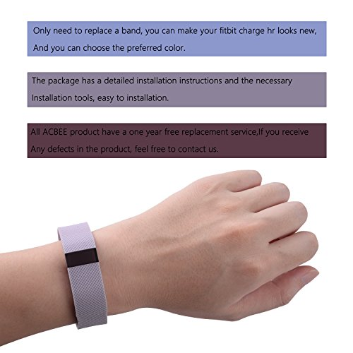 Fitbit Bands Fitbit Charge Hr Bandcontains Instructionsperfect