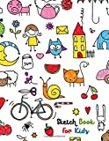 Sketch Book for Kids: Practice Drawing, Paint, Write or Doodle |  Artist Skechting Pad | Large Blank 120 Pages (8.5 x 11 in)