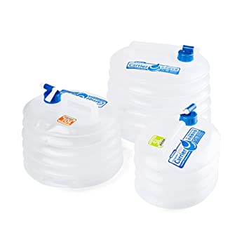 5L Portable Outdoor Camping Water Storage Carrier Container with Water-Tap