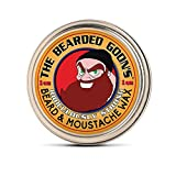 The Bearded Goon's RIDICULOUSLY STRONG Beard & Handlebar Moustache Wax - 1oz (30ml) Strongest Hold for Mustache, Beards, & Facial Hair