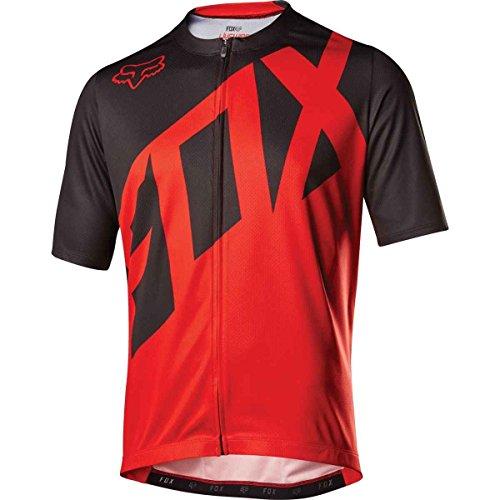 Fox Racing Livewire Jersey - Short Sleeve - Men's Red, XL ()