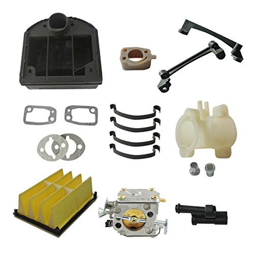 Assy Intake (JRL Carburetor Intake W/ Air Filter Cover Assy Fit Husqvarna 266 268 272 XP Chainsaw)