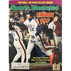 Ray Knight Signed Sports Illustrated November 3 1986