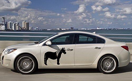 Vinyl Decal Mural Sticker Car Side Graphics Custom Made Pony Horse Animal Cute (Pony Mural)