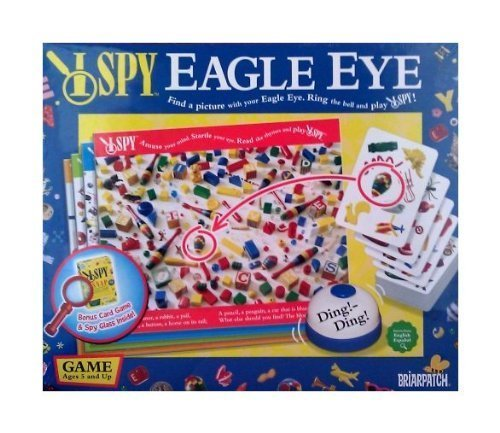Scholastic I Spy Eagle Eye Board Game with Bonus I Spy Snap Card Game (Board Game Ispy)