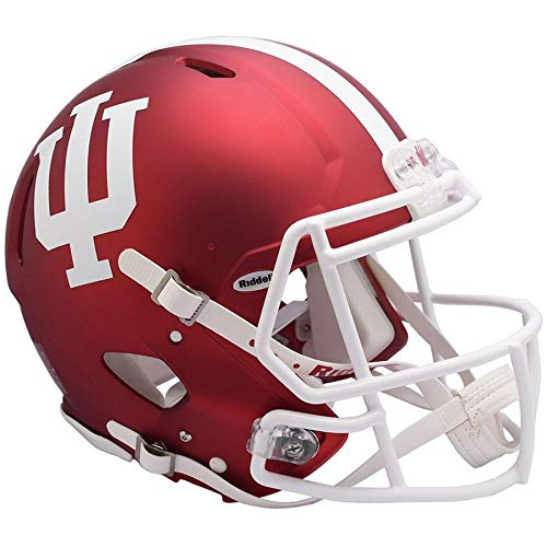 (Indiana Hoosiers 2018 Anodized Officially Licensed Speed Full Size Replica Football)