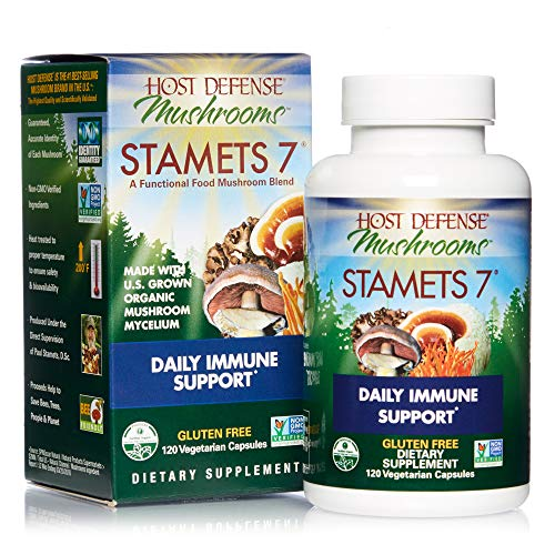 Host Defense, Stamets 7 Capsules, Daily Immune