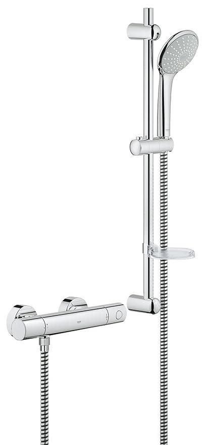 Grohe 34437000 Grohtherm 1000 Cosmopolitan M Shower Set Amazonco
