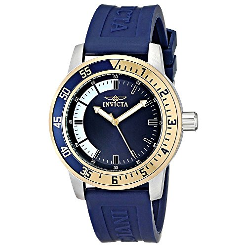 Invicta Men's 12847 Specialty Stainless Steel Watch with Blue Band from Invicta