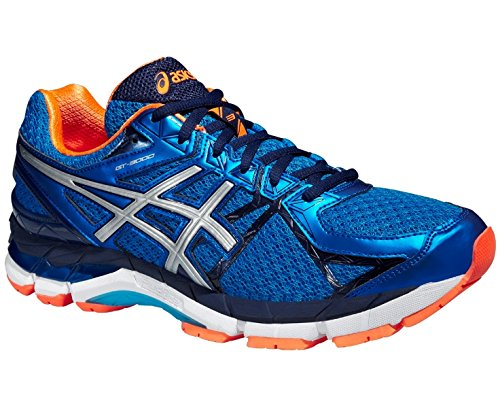 many kinds of geniue stockist sale online Asics Shoes GT-3000 3 Electric Blue/Silver/Hot Orange 15/16 Electric Blue / Silver / Hot Orange 9FDj6pGhZD