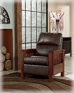Amazon.com: TRIBECCA HOME Hills Modern Mission-Style Oak ...
