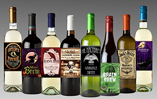 Set-of-12-Halloween-Wine-Bottle-Labels-5-Inch-X-4-Inch